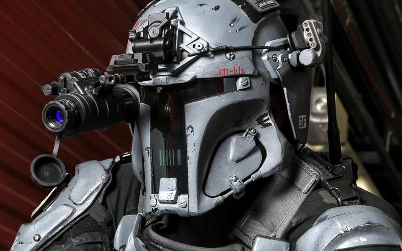 Mandalorijski Oklep - Iz Vojne Zvezd na bojišče blizu vas?