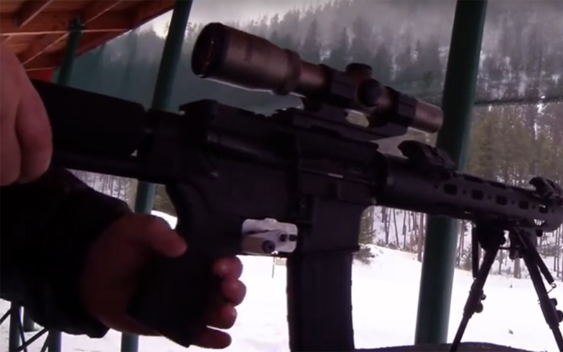 GatCrank oz. Kako vaša AR15 postane stari Gatling?