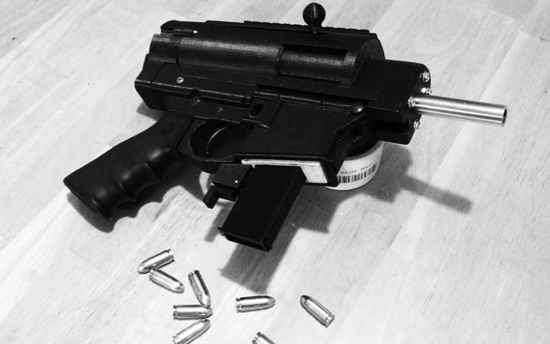 Shuty MP-1, izboljšana 3D natisnjena polavtomatska pištola kalibra 9mm