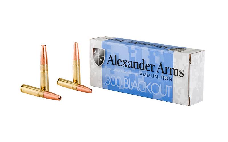 Alexander Arms - Cenejše 300 AAC Blackout strelivo