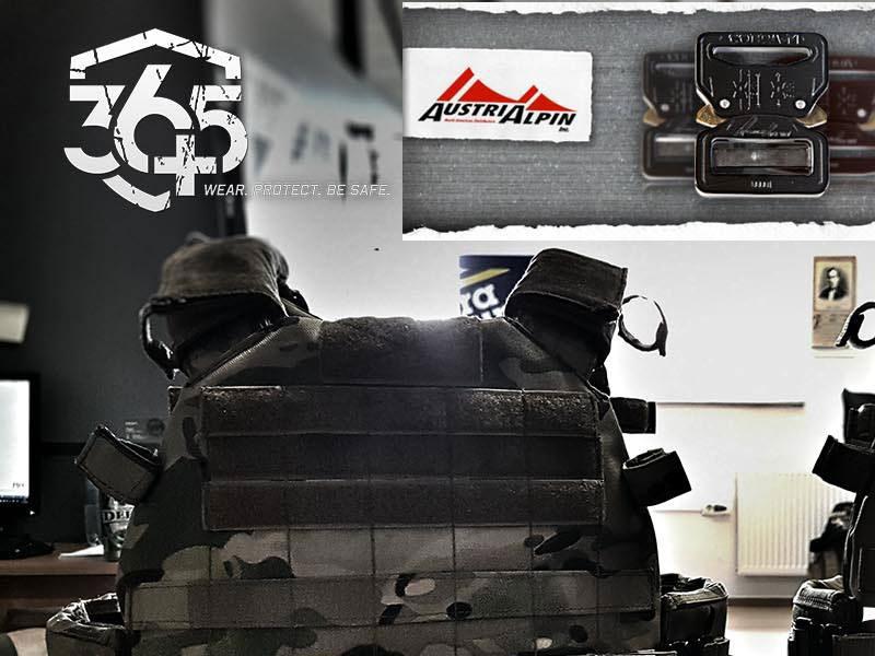 365 Plus - Predogled THOR Gen.2, nosilca oklepnih plošč/neprobojnega MOLLE jopiča