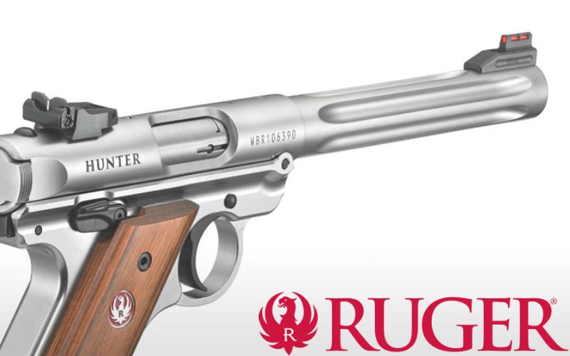 Rugerjeva novost - MARK IV, izboljšana malokaliberska pištola