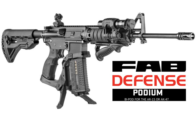 FAB Defense - PODIUM, super uporabna novost?