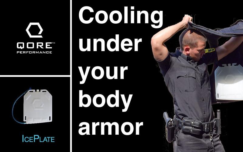 Qore Performance - Ice Plate ali vroče poletje, neprebojni jopič in hladilni elementi